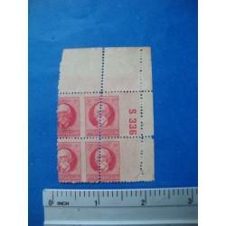 Stamp Cuba Block ca 1925,ERROR