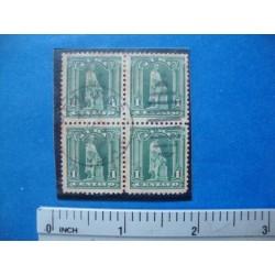 Stamp Cuba Block ca 1910