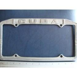 Cuba,License Plate Holder,Frame 1950  - ORGINAL