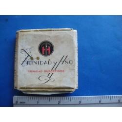 Cigarrillos Trinidad y Hermano Cuban cigarette,2 cigarettes
