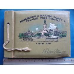 Photo Album,1930s ,empty Monumento a Maximo Gomez  y Palacio Presidental,Habana,Cuba Photoalbum