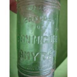 Bottle San Miguel, agua mineral AMYRSA San Miguel de los Banos,very rare Bottle,Cuba