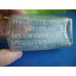 Bottle Magnesia Farmacia Laboratorios San Juan,Juan Jose Marquez. Medicine bottle