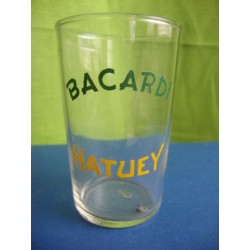 Bacardi  rum glass 1950s with Enamel No.1