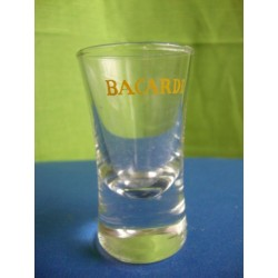 Bacardi small rum glass 1950s