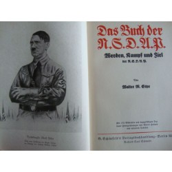 DAS BUCH DER N.S.D.A.P.1933 HISTORY OF THE NAZI PARTY