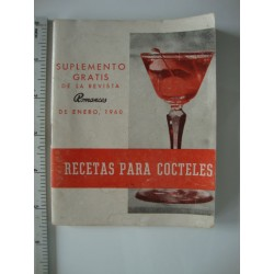 cuban cocktail book 1960,ROMANCES