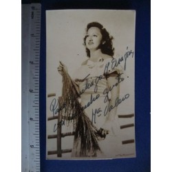 Maria Valero,orginal signed Photo Postcard - El Derecho de Nacer No.7