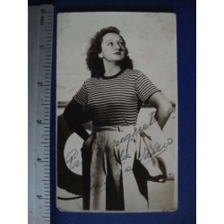 Maria Valero,orginal signed Photo Postcard - El Derecho de Nacer No.8