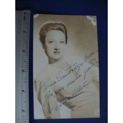Maria Valero,orginal signed Photo Postcard - El Derecho de Nacer No.9