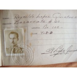 flight book Cuba,orginal 1947 of Pilot,incl.some documents.rare
