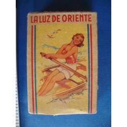 Matchbox la Luz de Oriente,unopend box,Cuba