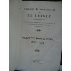 Colegios internacionales de el Cristo 1934