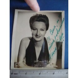 Maria Valero,orginal signed Photo - El Derecho de Nacer No.13