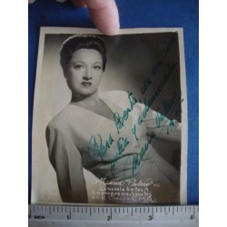Maria Valero,orginal signed Photo - El Derecho de Nacer No.14