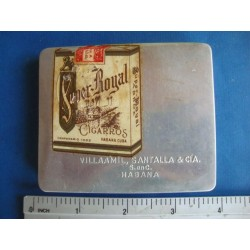 cuban cigarette  tin case,Super Royal,very rare