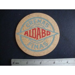 ALDABO Cremas Finas,High ball extreme rare Rum,Ron  Coaster