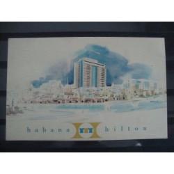 Postcard Hotel Habana Hilton
