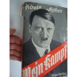 Adolf Hitler,Mein Kampf 1938  JUBILEE  edition,4 000 000 Copies