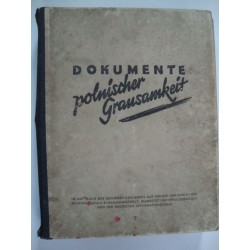 Documents of Polish cruelty against the German people,1940