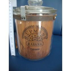 Humidor Upmann,Cuba 1940s Glas