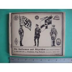 Die Uniformen und Abzeichen der SA, SS und des Stahlhelm Brigade Ehrhardt, Hitler-Jugend, Amtswalter, Abgeordnete, NSBO und NSKK