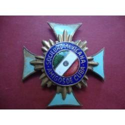 Medal,Decoration Amigos de Cuba,Sociedad Mexicana