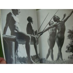 Gay + Lesbian interests,2 RARE ORIGINAL THIRD REICH NUDE ARYANS PHOTO BOOKS,Spirit and Beauty