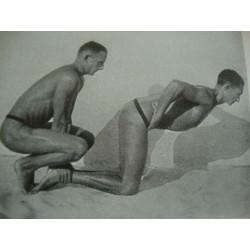 Gay  interests,2 RARE ORIGINAL THIRD REICH NUDE ARYANS PHOTO BOOKS by Hans Suren