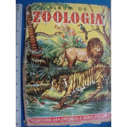Zoologia, first Album de Postalitas, short of 384 cards,complete