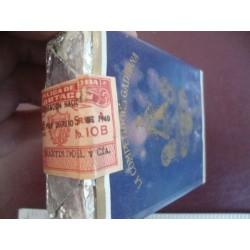 Cigarette pack,Cigarrillos La Competidora Gaditana Superfinos Especial ,unopened 1950s