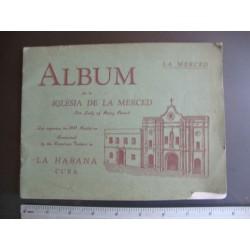 Album de la Iglesia de la Merced,Havana Cuba 1940,our lady of mercy church