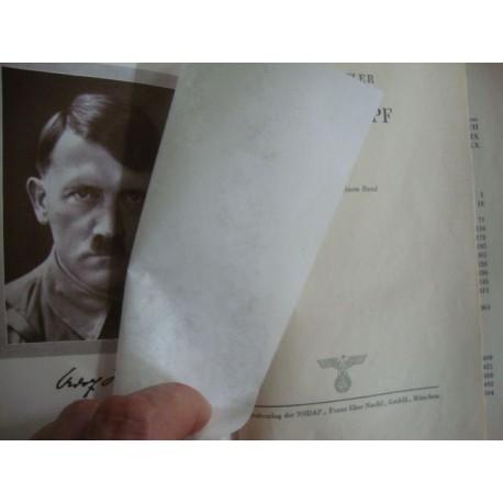 Adolf Hitler,Mein Kampf - My Struggle - Mi Lucha,orginal 1943  WEDDING EDITION