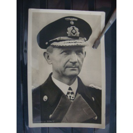 2 postcards Grossadmiral Dönitz