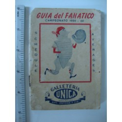 Cuban baseball Schedule GUIA del FANATICO,Galleteria Unica 1959 - 1960 TOP RARE