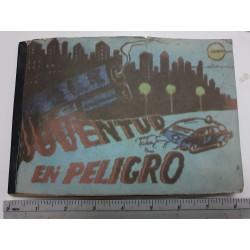Juventud en Peligro,POSTALITAS ,card`s Album 1.Edition,rare