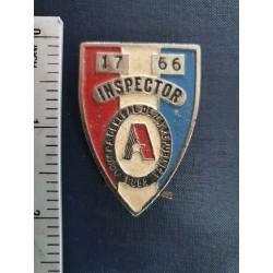 Cuba Customs inspector badge,Aduana 1970s