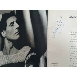 Ballet Theatre,1941 Booklet with 38 Autographs great Dancer
