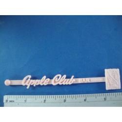 Swizzle Stick-Bar Apple Club,Habana