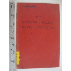The National socialist party programme,1937 in  english orginal!!!!