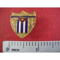 School- Colegio de Belen,Vintage Lapel Pin from Colegio Belen, Havana, Cuba
