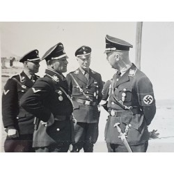 Original photography of the 3 highest-ranking officers in the Waffen-SS ,HIMMLER,DIETRICH,HAUSSER