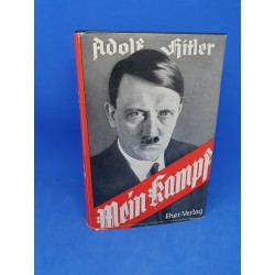 Adolf Hitler,Mein Kampf,my struggle,mi lucha  1938 with Cover