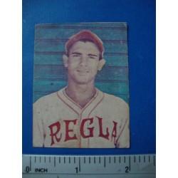 Angel Rodriguez, Regla Baseball Card 1943 LA AMBROSIA,Amateur