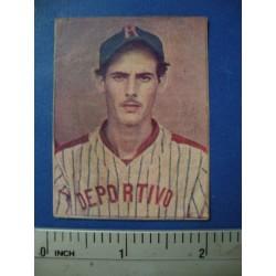 Alberto Torres  Baseball Card 1943,LA AMBROSIA,Amateur
