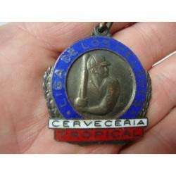 Baseball medal,Liga de los Melones,Cerveceria Tropical 1940s Cuba