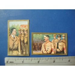 2 Lloyd Tobacco Cards ,No.3 The Fuhrer Adolf Hitler,1934 good condition