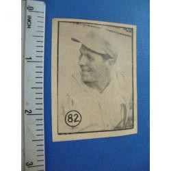 Roberto Ortiz Baseball Card No. 82  Felices,1945/46