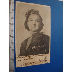 Maria Valero,orginal signed Photo - El Derecho de Nacer
