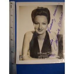 Maria Valero,orginal signed Photo - El Derecho de Nacer No.2